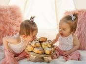 Happy 1st Birthday Addison & Aria