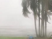 High winds and heavy rain over Lake Mary in Umatilla around 7:00.