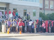 LMS Students Protest