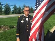 CW3, Ret John Stell, Vietnam to Desert Storm Vet for Flag Day