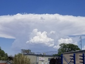 Top Hat cloud in Albuquerque