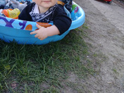 KANE LORISTON BOYLE (MR.PERSONALITY) 9 months old, enjoying a nice summer day!