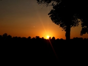 Beautiful Iowa sunset