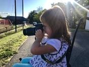 Sofia the photographer!