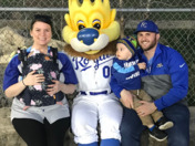 Family day at the K.  Stevens a great dad
