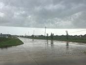 8:30 am storm clouds pushing through Houma