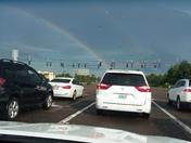 Double rainbow on 535 and World Drive. Beautiful!
