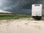 Storm approaching Knoke, Iowa