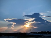 Sunset Thunderhead