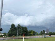 A view of the storms north of Omaha today