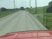Dangerous road Video of tar and chip state road 819 between Scott dale and Dawson