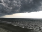North Myrtle Beach.  Storm only lasted 20 mins.