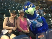 Fun night at the Revs game with my family!