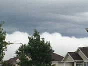 Picture taken by Anna at 96th & Schram looking south.