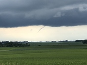 Funnel cloud north west of Paton, Ia.
