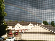 Rainbow in Altoona at 620pm today