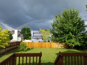 Rainbow above Altoona