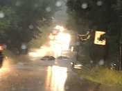 2 flooded cars block south park road in Bethel Park