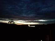 Amazing weather tonight