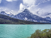 Lake in Jasper National Park