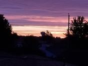 Sunrise in South Milwaukee