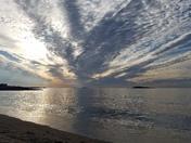 Preston Beach Swampacott this morning.