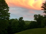 Last Spring sunset!