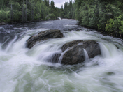 Murtle River in Wells Gray Park