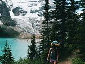 Hiking Along the Berg Lake Trail