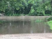 Raccoon River, Adel Iowa Thurs. 6-21-18