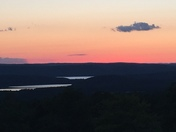 This evening from atop Eagle Hill in Hardwick