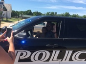 We couldn't be any more happier for our son then to see his face light up when Officer Danker arrived