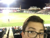 Was at the barnstormers baseball game tonight