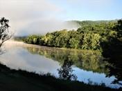 Morning Fog on the Androscoggin