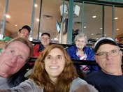 Having a blast at the Lancaster Barnstormers.