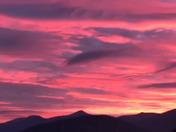 Sunrise over North Woodstock