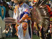 Feathered  Headdress  Dancer