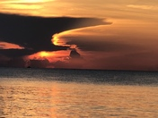 Saturday morning sunrise at Lake Worth Beach