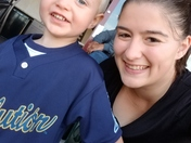 Noah and I attending the York Revolution game!