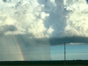 Rain shaft and Rainbow