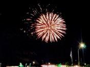 De Soto's 150th birthday fireworks