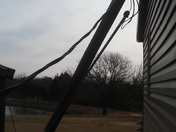 Wind damage in Wewoka