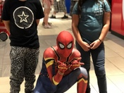 Spider-Man at Coronado mall