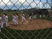 State baseball championship for 10u Northwest Iowa badgers vs Linmar Lions pregame warm-up