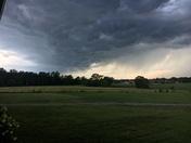 Storm in Piedmont 5:15pm