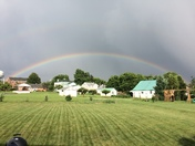 Double rainbow over Maytown!