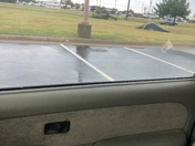 At Lowe's in Enid. Very windy.