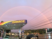 Beautiful full rainbow in greensburg pa!