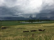 Weather formation south of Lake City