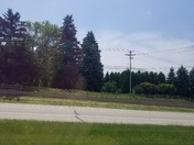 Sunny day in Brookfield, WI